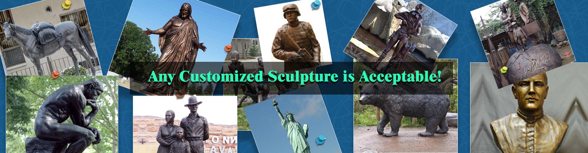 bronze custome made sculpture
