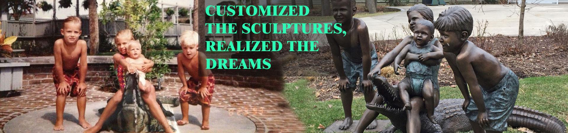 bronze statue for sale