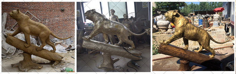 bronze animal statue for sale
