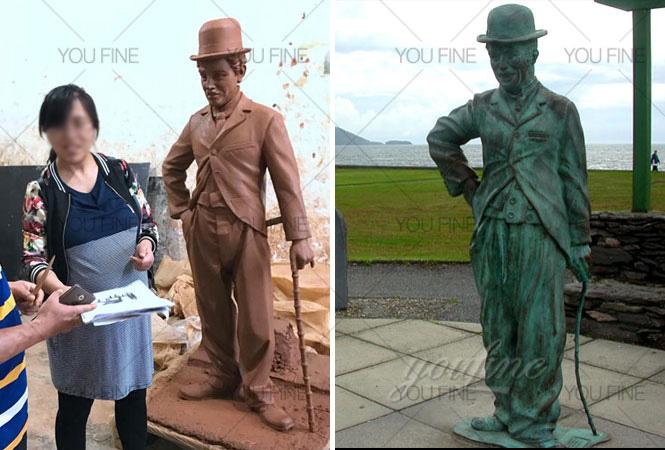 charlie chaplin sculpture