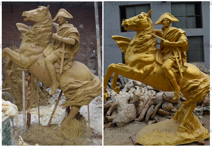 horse racing statues for sale