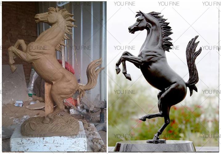 large horse figurines