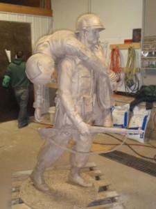 lost-wax-statue