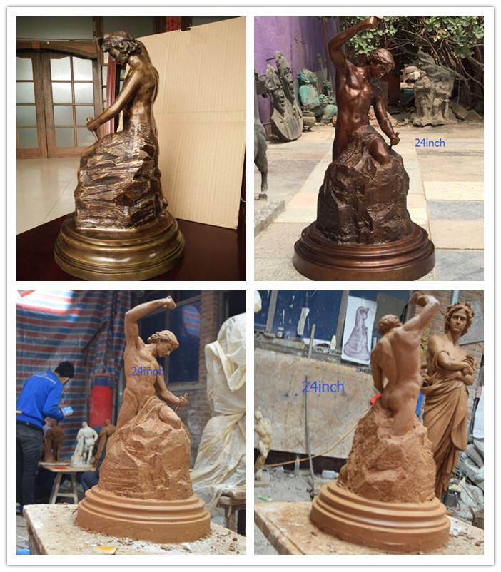 self made sculpture